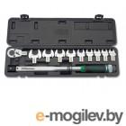 Ключ динамометрич. 40-210 Н/м 1/2 + рожковые насадки 13-30мм TOPTUL GAAI1101