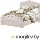 Полуторная кровать ФорестДекоГрупп Ника 120 (cветлый)