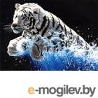 Набор для вышивания БЕЛОСНЕЖКА Белый тигр / 1253-14