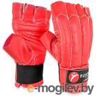 Перчатки для единоборств RuscoSport Шингарды (M, красный)
