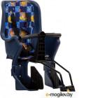 Детское велокресло STG GH-029LG / X95377 (синий с разноцветным текстилем)
