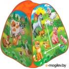 Детская игровая палатка Играем вместе Веселая ферма / GFA-FARM01-R