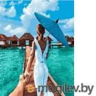 Картина по номерам Picasso Следуй за мной. Мальдивы (PC4050506)
