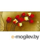 Набор для вышивания БЕЛОСНЕЖКА Тюльпаны на золотом / 7042-3D