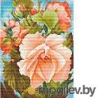 Набор для вышивания БЕЛОСНЕЖКА Роза / 6019-14