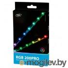 Светодиодная лента Deepcool RGB 200PRO (комплект цветового дооснащения корпуса, 2 ленты по 350mm, Addressable RGB LED, подключение 3pin (+5V-D-G)) Color Box