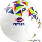 Футбольный мяч Novus Crystal PVC (размер 3, белый/синий/красный)