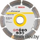 Алмазный диск универсальный Bosch ECO Universal (2608615028) d=125мм d(посад.)=22.23мм (угловые шлиф