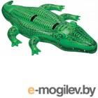 Надувная игрушка для плавания Intex Большой Аллигатор 58562