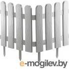 Забор декоративный Palisad Классика 65008 (белый)