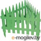 Забор декоративный Palisad Рейка 65005 (зеленый)