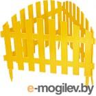 Забор декоративный Palisad Винтаж 65010 (желтый)