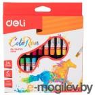 Масляная пастель Deli ColoRun EC20220 24цв. картон.кор./европод.