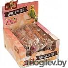 Лакомство для птиц Vitapol Smakers Box Для волнистых попугаев с фруктами ZVP-3230 (540г)