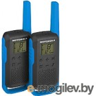 Комплект раций Motorola Talkabout T62 (синий)