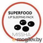 Маска для губ Missha Super Food Black Bean Lip Sleeping Pack (7г)