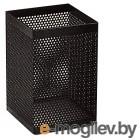 Подставка Deli E908 для пишущих принадлежностей черный металл сетка