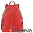 Рюкзак женский Piquadro Muse CA4327MU/R красный натур.кожа
