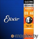 Струны для электрогитары Elixir Strings Nanoweb 12027 9-46