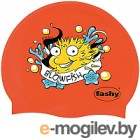 Шапочка для плавания Fashy Childrens Silicone Cap / 3047-00-93 (рыба-игла/красный)