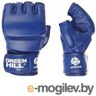 Перчатки для единоборств Green Hill MMF-0026a (XL, синий)
