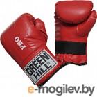 Перчатки для единоборств Green Hill Pro PMP-2064-S-RD (S, красный)