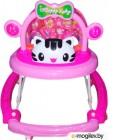 Ходунки Alis Счастливый малыш 8 / MLT-615A (розовый)