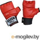 Перчатки для единоборств Green Hill CFBM-2077 (L, красный)