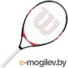 Теннисная ракетка Wilson Roger Federer 23 GR4 Junior 7-8 лет / WRT200700 (черно-красный)