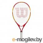 Теннисная ракетка Wilson US OPEN 21 Junior 5-6 лет / WRT20310U (оранжевый/красный)