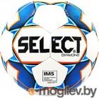 Футбольный мяч Select Diamond IMS / 810015-002 (размер 5, белый/синий/оранжевый)