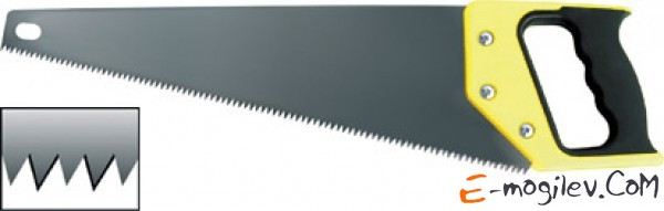 "Ножовка  450мм  с пласт.эрг. ручк.,  7зуб/1"", PROLINE (дерево, гипсокартон) Арт.64745"