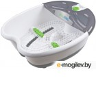Гидромассажная ванночка для ног Medisana FS-52E 65Вт белый/серый