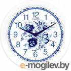Часы настенные кварцевые ENERGY ЕС-102 гжель