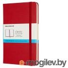 Блокнот Moleskine CLASSIC QP053F2 Medium 115x180мм 240стр. пунктир твердая обложка красный