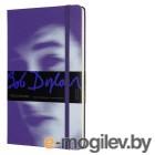 Блокнот Moleskine LIMITED EDITION BOB DYLON LEBDQP060B Large 130х210мм 240стр. линейка фиолетовый