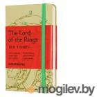 Блокнот Moleskine LIMITED EDITION LORD OF THE RINGS LELRMM710IS Pocket 90x140мм 192стр. линейка серый Isengard
