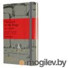 Блокнот Moleskine LIMITED EDITION LORD OF THE RINGS LELRQP060MO Large 130х210мм 240стр. линейка серый Moria