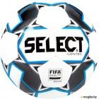 Футбольный мяч Select Contra FIFA / 812317 (размер 5, белый/черный/серый/синий)