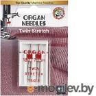 Иглы для швейной машины Organ 2-75/2.5 супер стрейч (двойные)