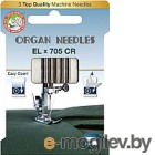 Иглы для швейной машины Organ Elx705 CR 5/90