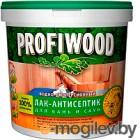 Антисептик для древесины Profiwood Для бань и саун (2.5кг)