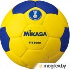 Гандбольный мяч Mikasa HB 3000 (размер 3, желтый/синий)