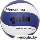 Мяч волейбольный Gala Sport Mistral 10 / BV5661S (размер 5, белый/синий)