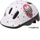 Защитный шлем Polisport Hoggy 44/48 / 8740200048 (белый/розовый)