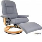 Массажное кресло Calviano 2158 с пуфом