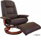 Массажное кресло Calviano 2159 с пуфом