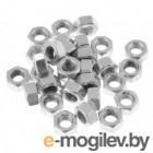 Гайка М12 шестигр. со стопорным кольцом, нерж.сталь (А2), DIN 985 (200 шт в карт. уп.) (STARFIX)