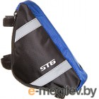 Сумка велосипедная STG 12490 / Х88294 (М, черный/серый)