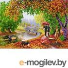 Набор для вышивания Наследие Осенняя прогулка / НЛ3-063